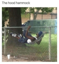 Blackpeopletwitter, The Hood, and Hammock: The hood hammock <p>Hood ingenuity. (via /r/BlackPeopleTwitter)</p>