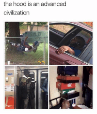 The hood hammock is my favorite 😂 • ➫➫ Follow @savagememesss for more posts daily: the hood is an advanced  civilization  ai The hood hammock is my favorite 😂 • ➫➫ Follow @savagememesss for more posts daily