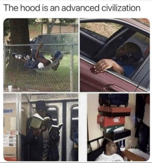 Pick your class: The hood is an advanced civilization Pick your class