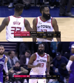 The Hornets' announcers making fun of James Harden's quadruple-double:  30 PTS  14 AST 10 REB 10 TO 5 PF   https://t.co/XznFWxbc91: The Hornets' announcers making fun of James Harden's quadruple-double:  30 PTS  14 AST 10 REB 10 TO 5 PF   https://t.co/XznFWxbc91