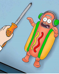 Meme, Memes, and Old: the hot dog guy is an old meme but i enjoyed this follow @rickmortymemes (me) for more! 🍑