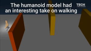 "the-man-who-sold-za-warudo: confused-junkrat:  danbensen:  antler-doe:   Google's DeepMind AI just taught itself to walk   He walked into my office like an evolutionary algorithm that had just taught itself to walk. ""Get out of here, you goofy bastard,"" I told him.  it totally reminds me of that gif of an anime girl slipping on the gym floor  anime is real : The humanoid model had TESH  an interesting take on walking the-man-who-sold-za-warudo: confused-junkrat:  danbensen:  antler-doe:   Google's DeepMind AI just taught itself to walk   He walked into my office like an evolutionary algorithm that had just taught itself to walk. ""Get out of here, you goofy bastard,"" I told him.  it totally reminds me of that gif of an anime girl slipping on the gym floor  anime is real"