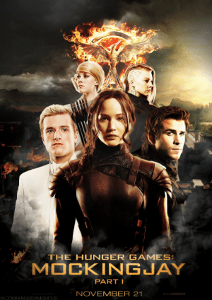 the-young-volcanoe:  I've done this alt poster for one contest, which I lost, but I'm not sad, I'm proud, because I enjoyed working on this.: THE HUNGER G AMES:  MOCKINGJAY  PART I  NOVEMBER 21  [NISE: L0] LIONSGATE  VK.COM/HUNGERGAMESMOVIE the-young-volcanoe:  I've done this alt poster for one contest, which I lost, but I'm not sad, I'm proud, because I enjoyed working on this.