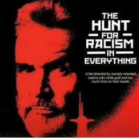 😂  •Kiru: THE  HUNT  FOR  RACISM  IN  EVERYTHING  A fad directed by socially retarded  cretins with white guilt and too  much time on their hands 😂  •Kiru