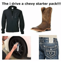 Driving, Memes, and Snapchat: The i drive a chevy starter pack!!! Snapchat: ironic.meme
