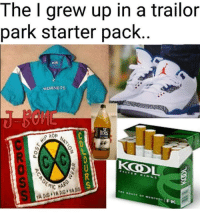 Starter Pack, Hornets, and Park: The I grew up in a trailor  park starter pack  HORNETS  loS  a.  MICAA
