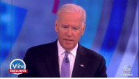 """""""I don't think anyone can say what cost Hillary Clinton the election,"""" Vice President Joe Biden said. """"She had a plan, the problem was nobody heard it."""" Joy Behar replied, """"Because we were watching a reality show on the other end!"""": THE  IEW  EXCLUSIVE  THE VIEW """"I don't think anyone can say what cost Hillary Clinton the election,"""" Vice President Joe Biden said. """"She had a plan, the problem was nobody heard it."""" Joy Behar replied, """"Because we were watching a reality show on the other end!"""""""