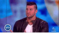 """""""I don't think it had anything to do with me,"""" Tim Tebow says of when he prayed over a fan having a seizure. """"God has a bigger plan for everybody, and God's in control. I'm not in control of anything."""": THE  IEW  #THE VIEW """"I don't think it had anything to do with me,"""" Tim Tebow says of when he prayed over a fan having a seizure. """"God has a bigger plan for everybody, and God's in control. I'm not in control of anything."""""""