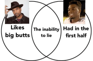 Truthn't: The inability | Had in the  big butts to lie first half Truthn't
