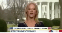 Conway, Memes, and 🤖: THE INAUGURATION  OF DONALD TRUMP  KELLY ANNE CONWAY Blackexcellence blackpride blackkids blackdignity blackliveswillalwaysmatter fuckdonaldtrump
