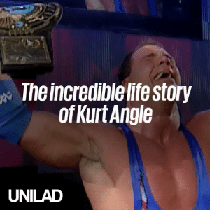 Tonight the legendary Kurt Angle will wrestle his final match. His journey to this moment has been inspirational... 🏅🐐  WWE: The incredible life story  ofKurt Angle  UNILAD Tonight the legendary Kurt Angle will wrestle his final match. His journey to this moment has been inspirational... 🏅🐐  WWE