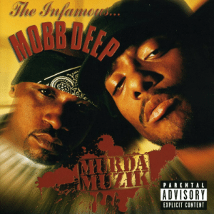 Parental Advisory, Tumblr, and Blog: The Infa  PARENTAL  ADVISORY  EXPLICIT CONTENT todayinhiphophistory:  Today in Hip Hop History:Mobb Deep released their fourth album Murda Muzik April 27, 1999