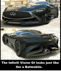Dank, Vision, and Infiniti: The Infiniti Vision Gt looks just like  the a Batmobile.