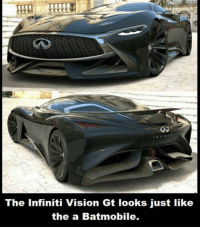 Memes, Vision, and Infiniti: The Infiniti Vision Gt looks just like  the a Batmobile. Sick!!! 😱😍😍 ~GL