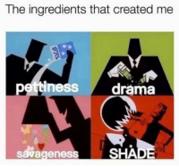 Funny, Memes, and 🤖: The ingredients that created me  pettiness drama  savageness SHA @funny is a MUST follow page!