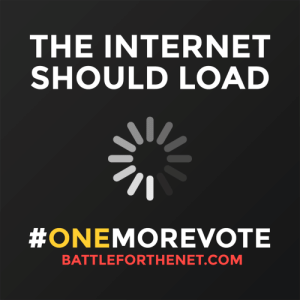 "Being Alone, Internet, and Struggle: THE INTERNET  SHOULD LOAD  #ONEMOREVOTE  BATTLEFORTHENET.COM staff:  This is the next move to restore net neutrality If it feels like you're fighting battles on every side, you're not alone. The struggle is terrifyingly real. But we can still make this year the best possible version of 2018 it can be. There's a new opportunity in to restore strong net neutrality protections: The Congressional Review Act.  What is the Congressional Review Act? The CRA lets the House and Senate repeal administrative laws—rules and regulations set by governmental agencies—with a simple majority in both houses. The resolutions can't be blocked by leadership, amended, or filibustered.  This congress has used the CRA more than any other to overturn regulations that protect vulnerable people and the environment, but this time we can use it for a good purpose—to reverse the FCC's decision and restore net neutrality.  We just need #OneMoreVote Battle For The Net has secured commitments from 50 senators. One more and we can take this fight to the House. These are the targets: John Kennedy (Louisiana) | 202-224-4623 | Email John McCain (Arizona) | 202-224-2235 | Email Orrin Hatch (Utah) | 202-224-5251 | Email Dean Heller (Nevada) | 202-224-6244 | Email If you live in these states, we need you. Even if you don't, you can still help the cause.  Go to battleforthenet.com to write or call your representatives.  Tell them to support the ""Resolution of Disapproval"" and overturn the FCC's December 14 ""Restoring Internet Freedom"" vote."