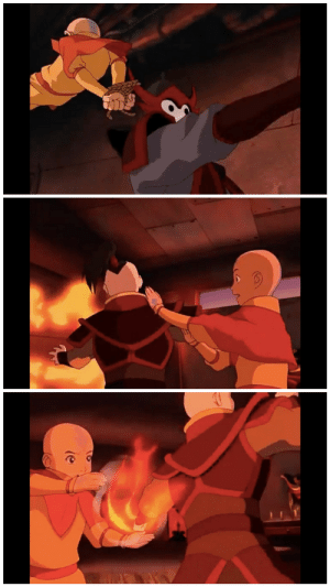 Energy, Love, and Aang: The inverse of Tai Chi, Ba Gua (airbending martial art) surrounds the opponent and delivers energy inward. By outflanking and outmaneuvering, one is able to stay behind the opponent's back. I love how Aang clearly demonstrates these techniques in episode 2!