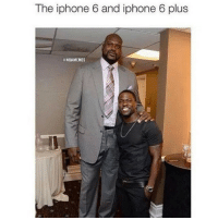 The iphone 6 and iphone 6 plus  @NBAMEMES Lololol