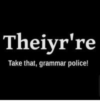 ohyeah I know yall out there: The ivr're  Take that, grammar police! ohyeah I know yall out there