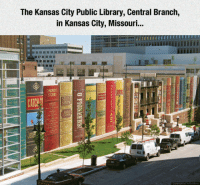 The Kansas City Public Library, Central Branch,  in Kansas City, Missouri...  CAT <p>Best Library Ever.</p>