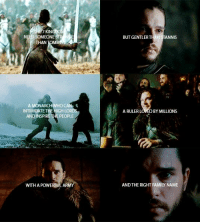 Stannis: THE KIN  NEED SOMEONE  THAN  TOMMA  A MONARCH  INTIMIDATE THE HIGH LOR  AND INSPIRE THE PEOPLE  WITH APOWE  ARM  BUTGENTLERTHAN STANNIS  A RULER L  BY MILLIONS  OWED  AND THE RIGHT FAMI NAME