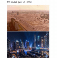 Memes, Dubai, and 🤖: the kind of glow up ineed Dubai in the 1990 vs 2017😍