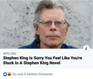 The King is sorry: The King is sorry