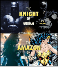 Amazon, Memes, and True: THE  KNIGHT  OF  GOTHAM ?  WONDERVAUGHN7  THE  AMAZ  ON  OF  THEMYSGIR A True friendSHIP: WONDER•BAT @benaffleck & @gal_gadot *** mywonderwoman girlpower women femaleempowerment MulherMaravilha MujerMaravilla galgadot unitetheleague princessdiana dianaprince amazons amazonwarrior manofsteel thedarkknight benaffleck brucewayne knight amazon