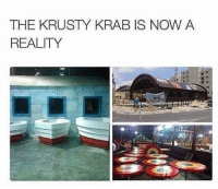 Funny, Reality, and Now: THE KRUSTY KRAB IS NOW A  REALITY
