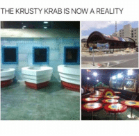 Friends, Memes, and Reality: THE KRUSTY KRAB IS NOW A REALITY Tag friends you want to visit this with (@theatreofmemes)