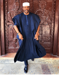 The ladies at Kraks are crushing on handsome TV host-lawyer Ebuka Obi-Uchendu today. The 35-year old Big Brother Naija host is one of the country's top TV personalities and his recent internet-breaking agbada chronicles at close friend Banky W's recent wedding ceremony only further cemented his status as one of the most stylish men in the country. MCM: The ladies at Kraks are crushing on handsome TV host-lawyer Ebuka Obi-Uchendu today. The 35-year old Big Brother Naija host is one of the country's top TV personalities and his recent internet-breaking agbada chronicles at close friend Banky W's recent wedding ceremony only further cemented his status as one of the most stylish men in the country. MCM