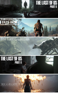 PlayStation, Ps4, and Tumblr: THE LAST OFUS  PART I   The Last Guardian   THE LAST OF US  PART I   HELLBLADE  SENUA S SACRIFICE pureplaystation:    PS4 Profile Banners   I | Made by @pureplaystation   How-to Apply | More Banners
