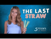 "<p><a href=""http://redbloodedamerica.tumblr.com/post/176022832961/plastic-straw-myths-do-you-enjoy-sipping"" class=""tumblr_blog"">redbloodedamerica</a>:</p>  <blockquote><h2>  Plastic Straw Myths  </h2><blockquote><p>  Do you enjoy sipping drinks through plastic straws?  Well, if activists get their way you won't be allowed to anymore.  ""These must be banned,"" they say.  </p><p>Why?</p><p>When celebrities speak, politicians listen.  Seattle recently banned straws, and other places want to do the same.  ""The idea that you're going to ban straws and save the world is ridiculous.""  Angela Logomasini studies environmental issues at the Competitive Enterprise Institute.  What will banning plastic straws accomplish?  ""Probably nothing at all.  It might make some people in Hollywood feel good.  It may make some politicians feel good, like they're doing something.  It might sound good at parties, but it's not going to solve any problems."" </p><p>Plastic pollution in the ocean <i>is</i> a real problem, but only about 1% of it comes from the United States.  Of that 1%, a tiny amount comes from plastic straws.  But what about that 500 million number?  Where do they all get that number?  They got it from this child's school project.  He says he got the 500 million straws a day figure through a phone survey he conducted with straw manufacturers.  The media just accepts his 500 million number.  But the actual number is much lower according to the analysis firm Technomic.  </p><p>Okay, so activists and media exaggerate the problem.  Still they promised it would be easy to get rid of the straws. ""If we can reduce something that is easy, that is polluting in the environment, that is getting stuck in turtles' noses and causing damage to the environment, let's do that,"" says progressive talk show host Ethan Bearman.  ""Sometimes we do need a little gentle guiding hand from government.""  <i>Governments gentle guiding hand</i> will either ban straws or order us to replace this cheap plastic straw with ones like these made of paper or bamboo.  ""Plastic doesn't actually biodegrade.  So unlike a lot of other things, paper, for example, actually breaks down into other components.""  </p><p>That's not a good thing.  That means paper straws break down, even while you're using them.  They get soggy, they leak.  ""That's the beauty of plastic, it's enduring,"" says Logomasini, ""Paper straws are going to break down while you're drinking with it.""  Paper and bamboo straws aren't environmentally pristine either.  Paper products take more energy and more effort to produce.  You're going to have a net negative environmental impact.  The paper doesn't degrade in a landfill either.  Everything is essentially mummified.  <b>You're replacing a superior product with an inferior one and you're asking people to pay more for it.</b> It doesn't make a lot of sense,"" she says. </p><p>It doesn't, and the higher price is the final result.  Paper straws are eight times more expensive to make than plastic straws.  Won't this hurt businesses?  ""I don't think so.  Maybe people won't use straws,"" claims New York City Councilman Barry Grodenchik.   ""If it's a $1.79 to get the fountain drink at Joe's corner deli that we're talking about, and now it's a $1.83, I don't see that as being a huge difference in the price,"" says Bearman.  </p><p>""This is what environmentalists will say about <i>every</i> policy they put out.  A few cents here, a few cents there eventually begins to become a burden,"" explains Logomasini.  We don't need straws.  ""You know a lot of things in life are not <i>necessary</i>, but beneficial and enjoyable.  Banning straws isn't going to do anything for the environment.  So what they're just trying to do is take away my freedom for nothing in return.""  </p><p>As the environment has become cleaner, that's become a specialty of the environmental movement: spend <i>your</i> money on feel-good policies that make no real difference.<br/></p></blockquote></blockquote>: THE LAST  STRAW  TOSSEL  on Reason <p><a href=""http://redbloodedamerica.tumblr.com/post/176022832961/plastic-straw-myths-do-you-enjoy-sipping"" class=""tumblr_blog"">redbloodedamerica</a>:</p>  <blockquote><h2>  Plastic Straw Myths  </h2><blockquote><p>  Do you enjoy sipping drinks through plastic straws?  Well, if activists get their way you won't be allowed to anymore.  ""These must be banned,"" they say.  </p><p>Why?</p><p>When celebrities speak, politicians listen.  Seattle recently banned straws, and other places want to do the same.  ""The idea that you're going to ban straws and save the world is ridiculous.""  Angela Logomasini studies environmental issues at the Competitive Enterprise Institute.  What will banning plastic straws accomplish?  ""Probably nothing at all.  It might make some people in Hollywood feel good.  It may make some politicians feel good, like they're doing something.  It might sound good at parties, but it's not going to solve any problems."" </p><p>Plastic pollution in the ocean <i>is</i> a real problem, but only about 1% of it comes from the United States.  Of that 1%, a tiny amount comes from plastic straws.  But what about that 500 million number?  Where do they all get that number?  They got it from this child's school project.  He says he got the 500 million straws a day figure through a phone survey he conducted with straw manufacturers.  The media just accepts his 500 million number.  But the actual number is much lower according to the analysis firm Technomic.  </p><p>Okay, so activists and media exaggerate the problem.  Still they promised it would be easy to get rid of the straws. ""If we can reduce something that is easy, that is polluting in the environment, that is getting stuck in turtles' noses and causing damage to the environment, let's do that,"" says progressive talk show host Ethan Bearman.  ""Sometimes we do need a little gentle guiding hand from government.""  <i>Governments gentle guiding hand</i> will either ban straws or order us to replace this cheap plastic straw with ones like these made of paper or bamboo.  ""Plastic doesn't actually biodegrade.  So unlike a lot of other things, paper, for example, actually breaks down into other components.""  </p><p>That's not a good thing.  That means paper straws break down, even while you're using them.  They get soggy, they leak.  ""That's the beauty of plastic, it's enduring,"" says Logomasini, ""Paper straws are going to break down while you're drinking with it.""  Paper and bamboo straws aren't environmentally pristine either.  Paper products take more energy and more effort to produce.  You're going to have a net negative environmental impact.  The paper doesn't degrade in a landfill either.  Everything is essentially mummified.  <b>You're replacing a superior product with an inferior one and you're asking people to pay more for it.</b> It doesn't make a lot of sense,"" she says. </p><p>It doesn't, and the higher price is the final result.  Paper straws are eight times more expensive to make than plastic straws.  Won't this hurt businesses?  ""I don't think so.  Maybe people won't use straws,"" claims New York City Councilman Barry Grodenchik.   ""If it's a $1.79 to get the fountain drink at Joe's corner deli that we're talking about, and now it's a $1.83, I don't see that as being a huge difference in the price,"" says Bearman.  </p><p>""This is what environmentalists will say about <i>every</i> policy they put out.  A few cents here, a few cents there eventually begins to become a burden,"" explains Logomasini.  We don't need straws.  ""You know a lot of things in life are not <i>necessary</i>, but beneficial and enjoyable.  Banning straws isn't going to do anything for the environment.  So what they're just trying to do is take away my freedom for nothing in return.""  </p><p>As the environment has become cleaner, that's become a specialty of the environmental movement: spend <i>your</i> money on feel-good policies that make no real difference.<br/></p></blockquote></blockquote>"