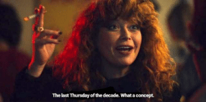 Drink it in!: The last Thursday of the decade. What a concept. Drink it in!