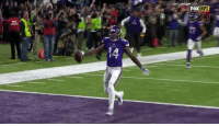 Memes, Nfl, and New Orleans Saints: The last time the @Vikings and Saints met... The Minneapolis Miracle happened. #SKOL #NOvsMIN #WildPlayWednesday  Follow @nflthrowback for the best moments in NFL history! https://t.co/MRfsiIO0r9