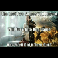 Halo, Memes, and Black: The Last Two Gaines Pavel  IAlill Fuse Into One Galle  How Well Diduit Turn Ollt? Black ops 2 x Halo?