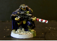 The last Warhammer 40k pice I painted - about13 years ago: The last Warhammer 40k pice I painted - about13 years ago