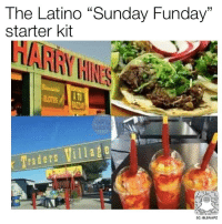 "Starter Kit: The Latino ""Sunday Funday""  starter kit  Traders Village  SC: BLSNAPZ"