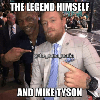 Look who was at #UFC187!: THE LEGEND HIMSELF  @the mma mafia  AND MIKE TYSON Look who was at #UFC187!