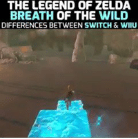 What are the differences between Legend of Zelda: Breath of the Wild for Switch and Wii U? We've got you covered.: THE LEGEND OF ZELDA  BREATH OF THE WILD  DIFFERENCES BETWEEN SWITCH & WIIU What are the differences between Legend of Zelda: Breath of the Wild for Switch and Wii U? We've got you covered.