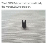 """Batman, Lego, and The Worst: The LEGO Batman helmet is officially  the worst LEGO to step on. <p><a href=""""http://ragecomicsbase.com/post/163416445332/the-profanities-that-would-leave-my-mouth"""" class=""""tumblr_blog"""">rage-comics-base</a>:</p>  <blockquote><p>The profanities that would leave my mouth!</p></blockquote>"""
