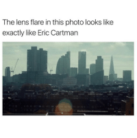 lens flare: The lens flare in this photo looks like  exactly like Eric Cartman