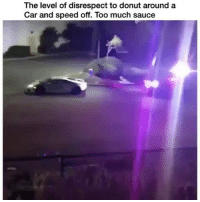 Memes, Money, and Too Much: The level of disrespect to donut around a  Car and speed off. Too much sauce 😮😮😮 THE DISRESPECT OF THIS LAMBO! OOOO BOY 🔥🔥🔥 Money 💰 = Freedom 🌎