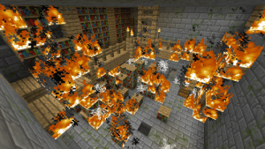 The library of alexandria is burnt (48 b.c): The library of alexandria is burnt (48 b.c)