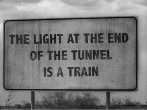 Memes, Train, and 🤖: THE LIGHT AT THE END  OF THE TUNNEL  IS A TRAIN Spoiler Alert..  🌹 Poison 🌹