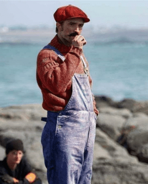 The lighthouse was shot in black and white, because otherwise, Robert Pattinson was going to look like Mario Bros.: The lighthouse was shot in black and white, because otherwise, Robert Pattinson was going to look like Mario Bros.