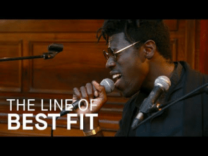 Tumblr, Best, and Blog: THE LINEOF  BEST FIT c-bassmeow:This is one of the most haunting live performances I've ever seen and it's minimalist too making it even more impressive. His voice is out of this world.  All my hair falls out every time I press play