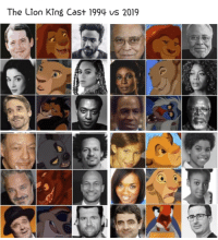 Memes, The Lion King, and Lion: The Lion King Cast 1994 us 2019