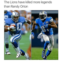 Both retire at 30 Tag someone: The Lions have killed more legends  than Randy Orton Both retire at 30 Tag someone