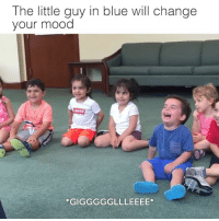 The Littl: The little guy in blue will change  your mood  *GIGGGGGLLLEEEE